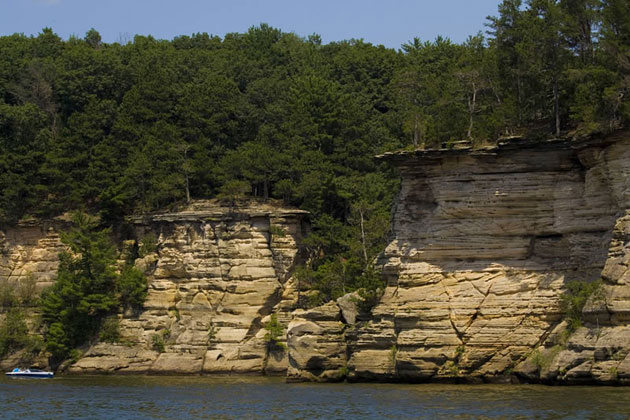 Wisconsin River Bluffs